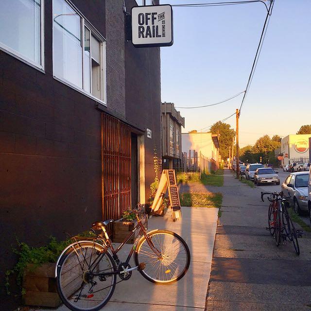 adanac bike path brews cruise