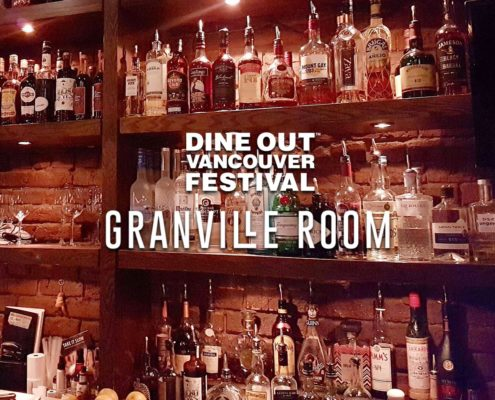 granville room dine out vancouver festival