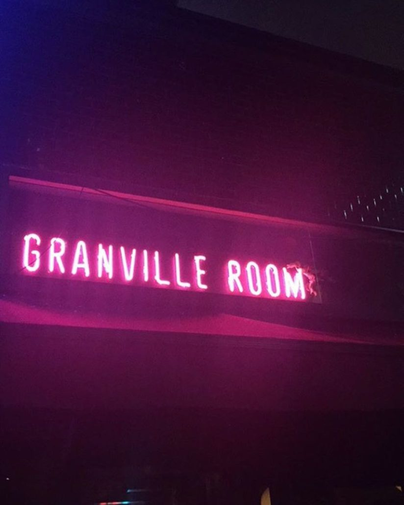 Granville Room Dine Out Vancouver Festival 2018