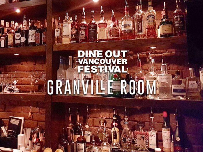 granville room dine out vancouver festival
